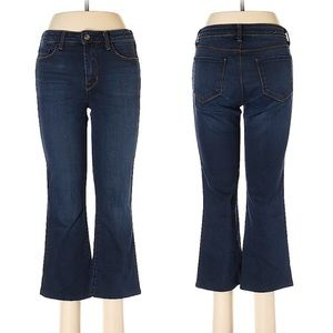 L'agence Cropped Baby Flare Pacifica Jeans